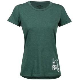 PEARL iZUMi Graphic Koszulka z krótkim rękawem Kobiety, zielony